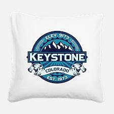 Keystone Ice Square Canvas Pillow