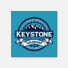 "Keystone Ice Square Sticker 3"" x 3"""