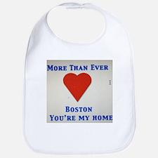 Support our wonderful town, Boston Bib