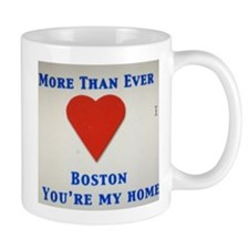 Support our wonderful town, Boston Mug