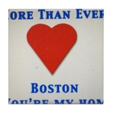 Support our wonderful town, Boston Tile Coaster