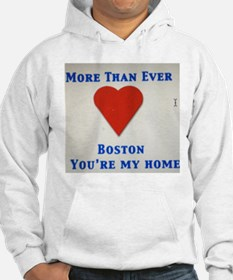 Support our wonderful town, Boston Hoodie