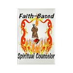 Spiritual Counselor Rectangle Magnet (10 pack)