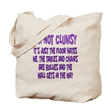 Not Clumsy Tote Bag