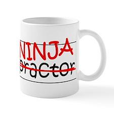 Job Ninja Chiropractor Small Mug