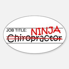 Job Ninja Chiropractor Decal