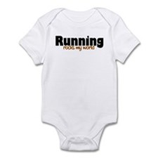 'Running' Infant Bodysuit