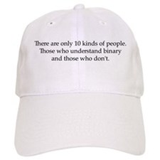 10 Kinds of People Baseball Cap