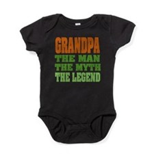 Grandpa The Legend Baby Bodysuit