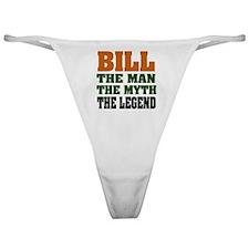 Bill The Legend Classic Thong