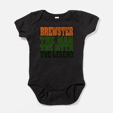 Brewster The Legend Baby Bodysuit
