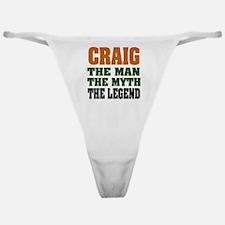 Craig The Legend Classic Thong