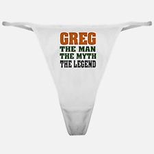 Greg The Legend Classic Thong