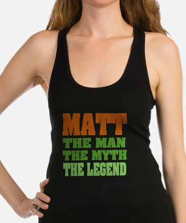 Paul The Legend Racerback Tank Top