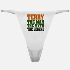 TERRY DARK.png Classic Thong