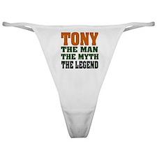 Tony The Legend Classic Thong