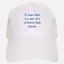Clean Desk Baseball Baseball Cap