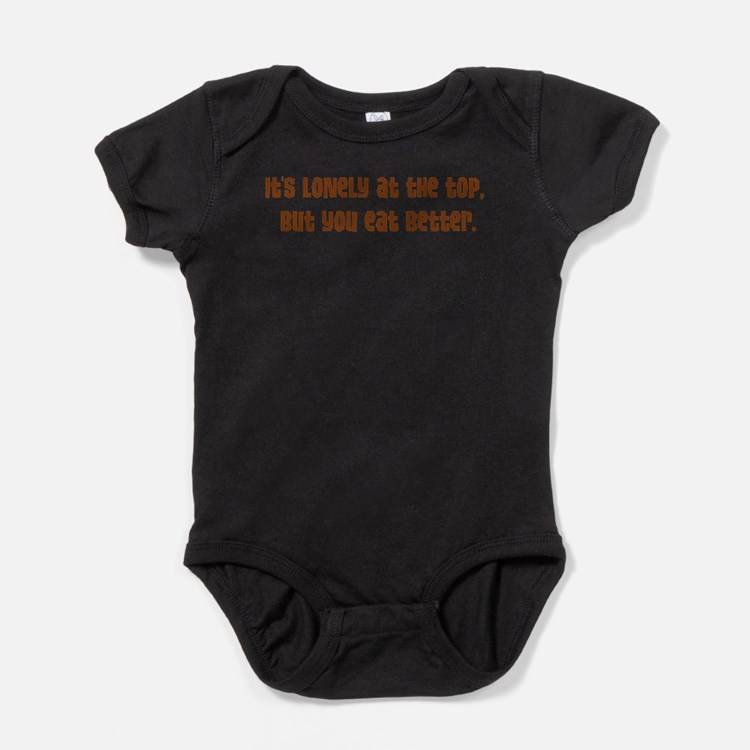 Lonely at the Top Baby Bodysuit