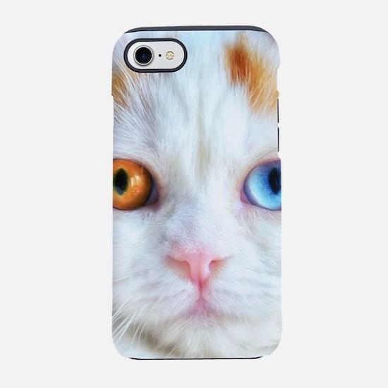 Odd-Eyed White Persian Cat iPhone 7 Tough Case