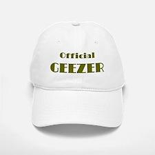 Official Geezer Baseball Baseball Cap