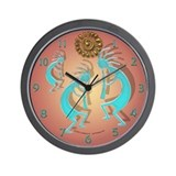 Kokopelli Wall Clocks
