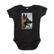 German Shepard Baby Bodysuit