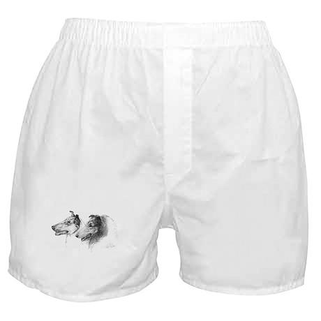 Rough Smooth Collies Boxer Shorts