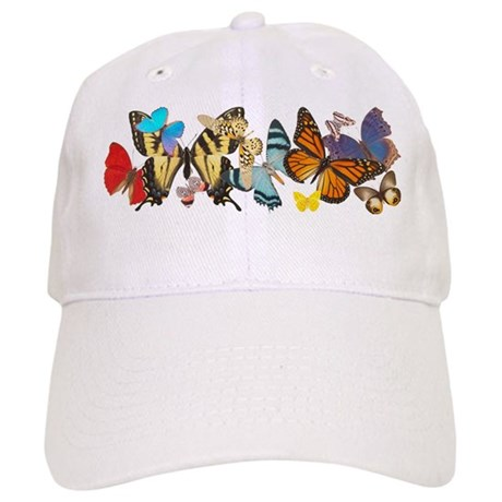 Beautiful Butterflies Cap