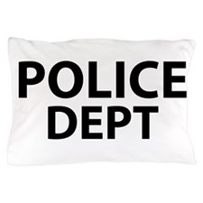 POLICE DEPT Insignia Pillow Case