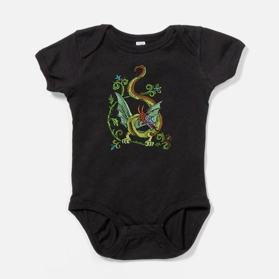 Celtic Dragon 2 Baby Bodysuit