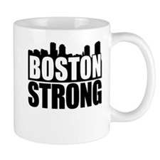Boston Strong Black Mug