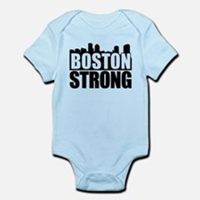 Boston Strong Black Body Suit