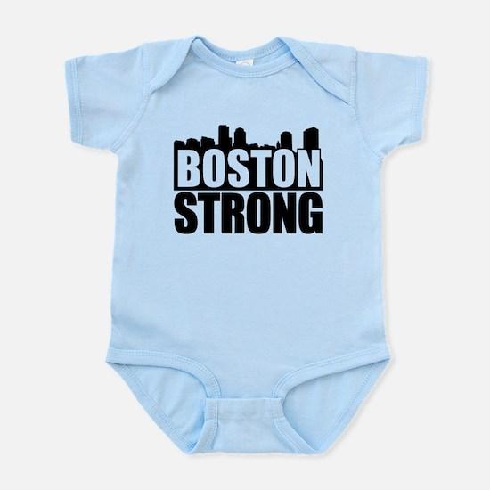 Boston Strong Black Body Suit