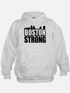 Boston Strong Black Hoodie