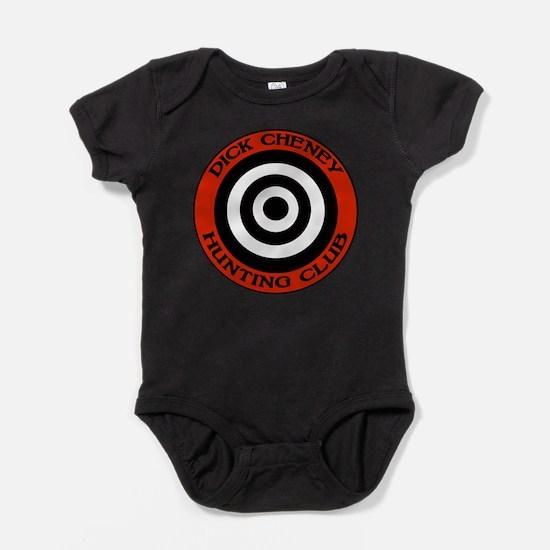 Dick Cheney Hunting Club Baby Bodysuit