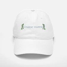 Compost Happens Baseball Baseball Cap