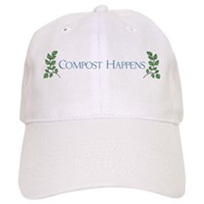 Compost Happens Baseball Cap