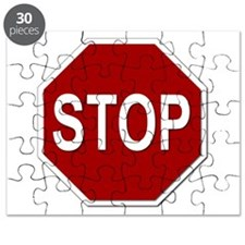 Sign - Stop Puzzle