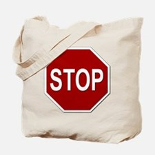 Sign - Stop Tote Bag