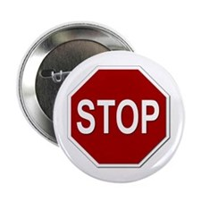 "Sign - Stop 2.25"" Button (10 pack)"