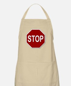 Sign - Stop Apron
