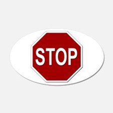 Sign - Stop Wall Decal