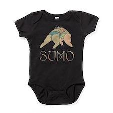 Sumo Wrestling Baby Bodysuit