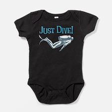 Just Dive Baby Bodysuit