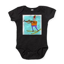 Biathalon Baby Bodysuit