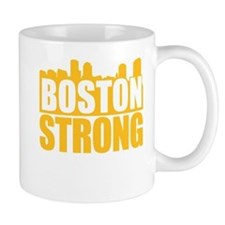 Boston Strong Gold Mug