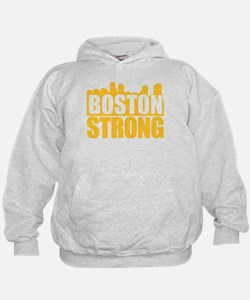 Boston Strong Gold Hoodie