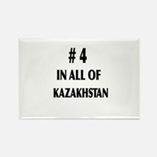 4 IN ALL OF KAZAKHSTAN Rectangle Magnet