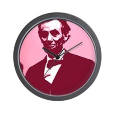 Abrahm Lincoln Wall Clock