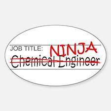 Job Ninja Chem Eng Decal